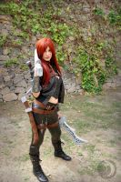Katarina cosplay1 - Dragonstrace by DragonsTrace