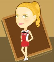 Quinn Fabray - Glee by katessence