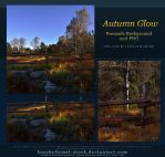 Autumn Glow Premade + PNG by kuschelirmel-stock