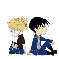 Roy and Riza by scarletperiwinkle