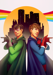 X-Ray and Vav! by Synnesai