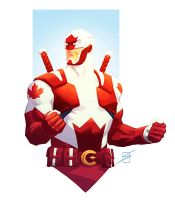 Captain Canuck by ronsalas