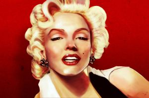 Just marilyn by victter-le-fou