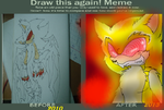 BEFORE and AFTER fleetway TWT by Pok3M0n-Lov3r56