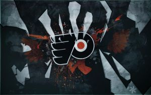 philadelphia flyers by anmarwal