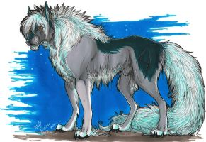 Fenrir-Old Art by the-MadDog
