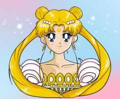 Princess Serenity by strepsil