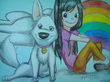 Pup of Lupa and Daughter of Iris by DanchouLoli-chi