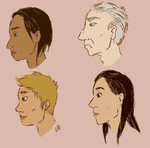 Diverse face practice by Alisha-town