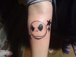Jack Skellington Tattoo . by DeeDeeko