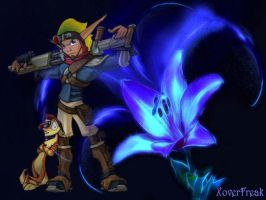 Jak-Daxter - Light Eco Blossom by XoverFreak
