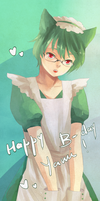 Happy B-day Yamimi~ by tshuki