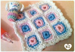 1:12 Miniature Blankey and Bunbun by kicat
