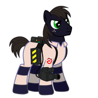 Ghostbuster Tex by DolphinFox