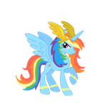 Princess Rainbowdash by schnuffitrunks