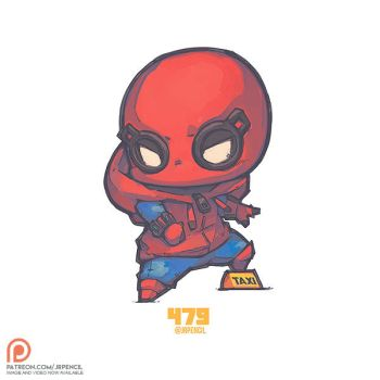 479 - Spiderman Homemade by Jrpencil