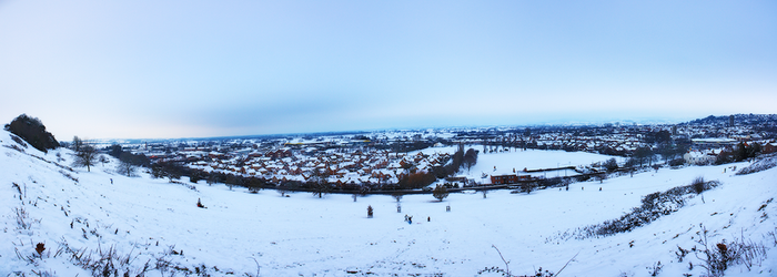 Glastonbury In The Snow by diiscovery