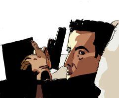 John Cusack Grosse Point Blank by HPMATT