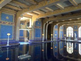 Hall of Hearst's Indoor Pool by ColonelKR