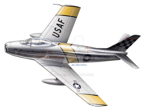 Sabre f86 by araeld