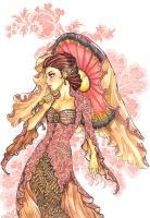 girl in kebaya by meiske