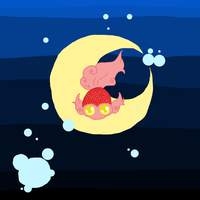 Moon Fish by SourKiss