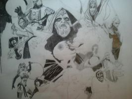 Star Wars Sith Lords and Assassins update by ravencolored