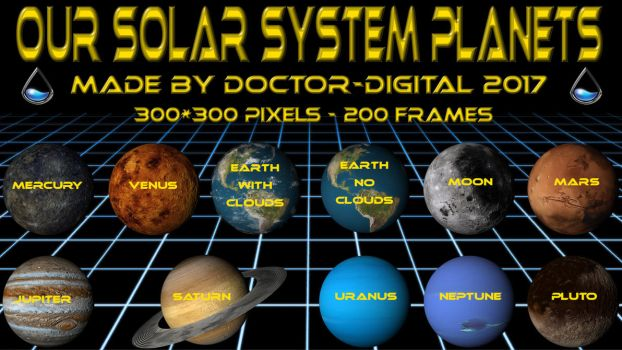 Our Solar System Planets - Part 1  by Doctor-Digital