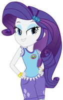 Vector - Camp Everfree Rarity by SketchMCreations