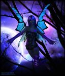 Shadow Maiden - Purple Moon by Andecaya