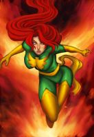dark phoenix by funeralwind