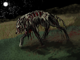 Zombie Dog by Spottedfire1212