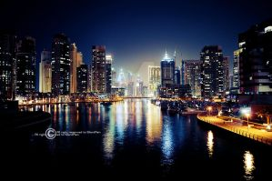 Dubai City by SilentPain0