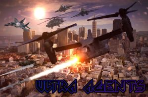 Ultra Agents Trailer Logo by MegaDISASTER