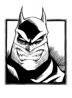 Angry Batman by Limbo4ever