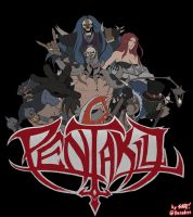 TIME TO SHRED - League of Legends Pentakill Band by ffSade