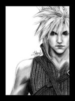 Cloud Strife by tll-bam