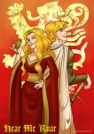 A series of Ice and Fire - The Lannisters by Blueberry-me