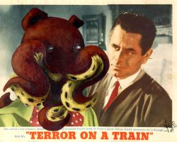 Terror ON A TRAIN by teaspoons