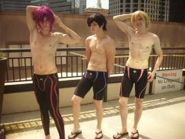 Fanservice? Of Course Not! by OotoriGroupCosplay