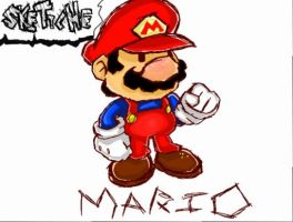 - MARIO - by Skettche