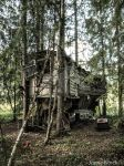Abandoned Treehouse in Finland by JanneFlinck