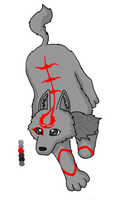 Assassin's creed wolf adoptable - Sold by Storm-Cwalker