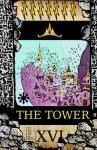 pony tarot - the tower by Dekiel00