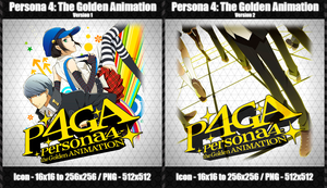 Persona 4: The Golden Animation -Anime Icon- by CrimsonNoise