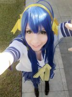 Lucky Star: Smile girl by Ginkid
