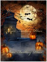 Halloween Secret 1, digital backgrounds by KlaraKay