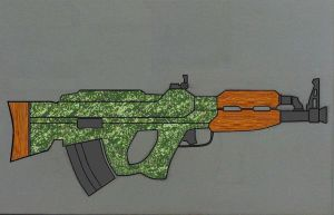 Bullpup AK by Ruthie420