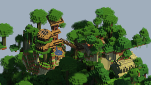 Tree-Top Town by PixelCod