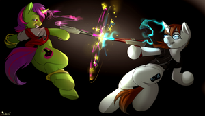 Zapper War by Noben